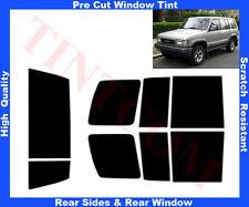 Pre Cut Window Tint Isuzu Trooper 5 Doors 92-03 RearWindow & RearSides AnyShade