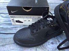 NEW NIB Nike golf shoes youth sz 4, Dunk NG JR GPB black kids golf shoes spikes