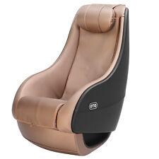 OTO Shiatsu Brown Full Body Massage Chair Deluxe PU Curved Recliner Video Gaming