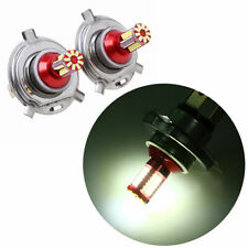 2pcs H4 White Car Auto Head Light 57 SMD 3014 LED Bulb Fog Driving Lamp DRL