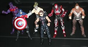 Marvel 6pc Action Figures 3.75 Inch Lot