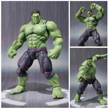 6'' Marvel Avengers Figma Hulk Anime PVC Movable Action Super Hero Figure Toy