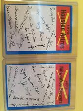 2 - 1973 O-Pee-Chee Blue Team Checklists Baseball - Houston Astros & Brewers