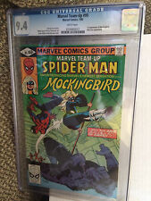 Marvel Team-up #95 CGC 9.4 White pages 1st app Mockingbird