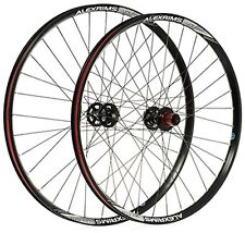 "Alex Chosen 26"" Trail QR Quick Release Front MTB Bike Tubeless Ready Wheel Black"