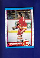 Brad McCrimmon 1989-90 O-PEE-CHEE OPC Hockey #203 (MINT) Calgary Flames