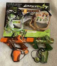 Tiger Electronics Lazer Tag Deluxe 2 Tagger Hud Headset Units Wireless Team Ops
