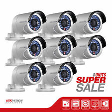 SALE! 8 Hikvision DS-2CD2010-I Mini IP Network Bullet Camera, HD 1.3MP 4mm Lens