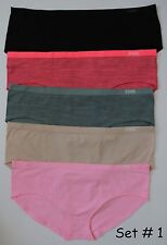 Victoria's Secret Pink Cool & Comfy Seamless Hipster Panty - 5/$28.50 MULTICOLOR