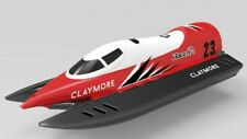Claymore F1 Rc Race Boat 2.4ghz Water Proof Rc Formula Boat 19 Mph ! -Rtr- Red