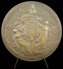 Médaille allégories des arts savoir Liberté République hippolyte lefebvre medal