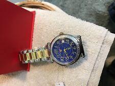New men?s watch blue ace Swiss legend quartz battery