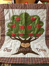 Quilted Photo Throw Our Family Tree Photo Inserts New Family Pictures Gift