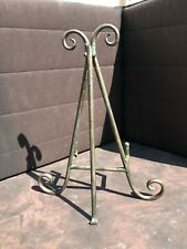 """Tabletop Easel Picture Art Photo Holder Display Stand Metal 17"""""""