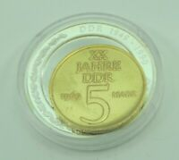 5 Mark XX. Jahre DDR 1969 / DDR 1949-1990 Outlay / Rotes Haus Berlin