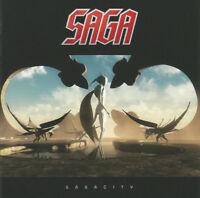SAGA Sagacity (2014) 12-track CD album NEW/UNPLAYED