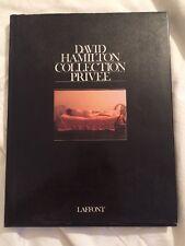 Libro Collection Privee Di David Hamilton
