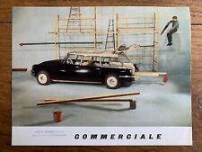 Brochure CITROEN ID 19 Commerciale - Prospectus French 05 1961