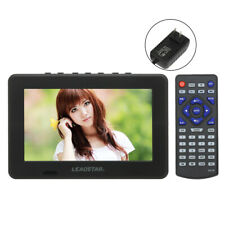 "7"" Tft-Led Portable Digital Tv Analog Television Atsc Pvr Usb Av Tf Video Player"