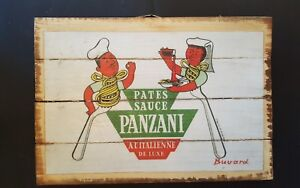 PATES SAUCE; Industrial Wooden Vintage Rustic Retro Cafe Wall Art Print NEW