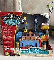 Learning Curve Chuggington Interactive Train Repair Shed With Track Brand New