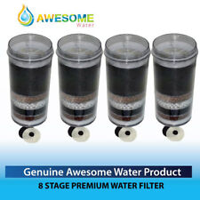"Awesome Water 8 Stage KDF Filter ""buy 3 get one extra -FREE- Package Deal"