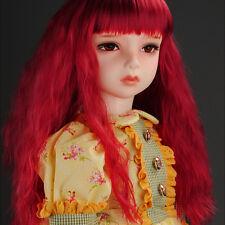"""Dollmore Ooak Supplier Wig Size (13-14)"""" Forest Sobazu Wig (Wine)"""