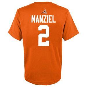 Johnny Manziel NFL Cleveland Browns Orange Jersey N&N T-Shirt Youth (S-XL)