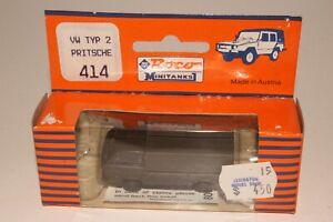 ROCO MINITANKS #414 VOLKSWAGEN VW U.S. ARMY TRUCK, 1:87 HO SCALE, NEW IN BOX