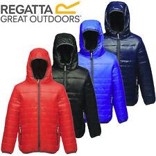 Kids Regatta Stormforce Padded Insulated Thermal Jacket Coat Boys Girls Childs