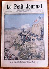 Le petit Journal 6/12/1896; Un Glorieux souvenir; La défense de Mazagran