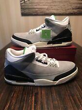 Air Jordan 3 Retro Chlorophyll 136064-006 Men's sz 18 White Gray Green DS NEW