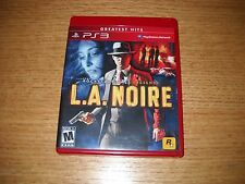 L.A. Noire Greatest Hits (Sony PlayStation 3, 2011)