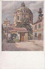 Künstler Postkarte - Sign. Hans Götzinger / Wien - Karlskirche