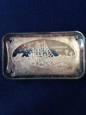 1975 Normark Mint Gasparilla 1975 WWM-46 World Wide Mint Silver Art Bar P0584