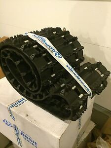 "New Composit T28 snowmobile track 121 X 15 X 1.1"" Lug, 2 Ply, Fully Clipped"
