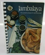Jambalaya Junior League of New Orleans 1984 Worlds Fair Edition Cookbook NICE!