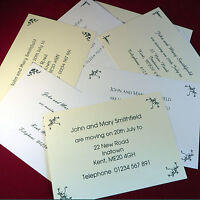 Personalised Change of Address Moving cards New House New Address Card