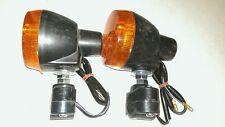 New OEM KTM SX SXF Amber Turn Signal Lights Pair Orange Blinkers