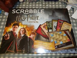 Harry Potter Scrabble Board Game Limited Edition (New And Sealed)FREE P+P