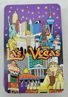 VINTAGE Las Vegas Standard Deck Playing Cards  Souvenir CIrca 1980's - COMPLETE