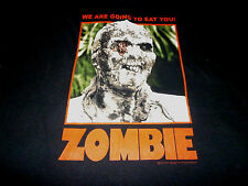 Zombie Shirt ( Used Size L ) Very Nice Condition!!!