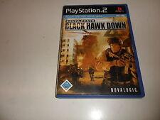 PlayStation 2  PS 2  Delta Force: Black Hawk Down