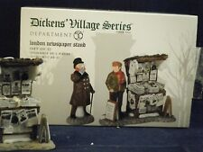 """Department 56 Dickens Village """"London Newspaper Stand""""  #56.58560 New"""