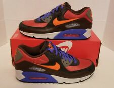 Nike Air Max 90 Winter PRM sz 8 Red Clay 683282 600 QS NOLID