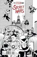 SECRET WARS #1 NM NEW 2015 (ZDARSKY PARTY SKETCH 1 PER STORE VARIANT)