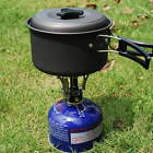 Ultralight Mini Backpacking Canister Camp Camping Stove Burner Piezo Ignition FV