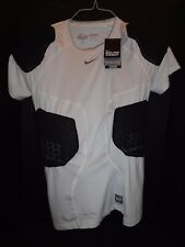 NIKE PRO COMBAT PADDED ATHETIC COMPRESSION PROTECTIVE GEAR SHIRT XL  NEW