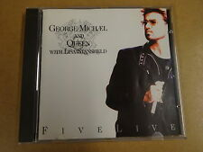 CD / GEORGE MICHAEL AND QUEEN WITH LISA STANSFIELD - FIVE LIVE