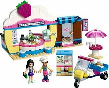 Lego Friends Play Set. Olivia's Cupcake Café Shop + Olivia & Emma Mini-Dolls